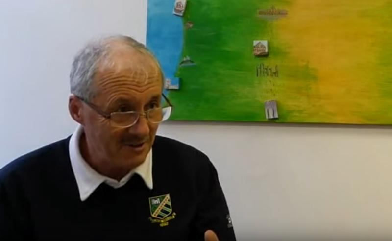 John McGarry, cancer survivor, talking