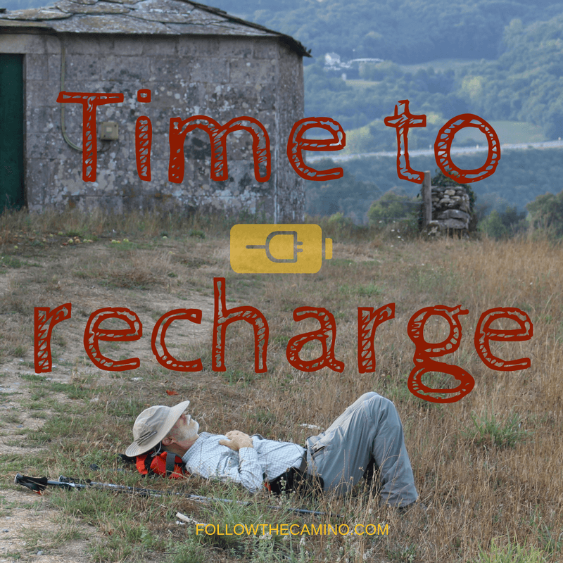 Time off to recharge