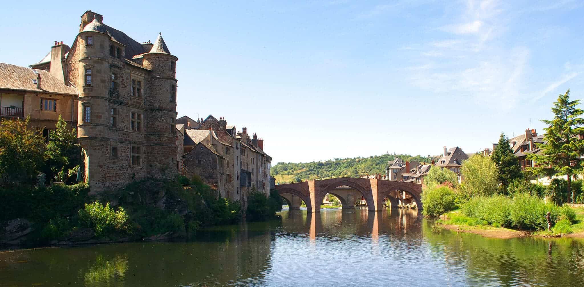 Famous Landmarks/ Landscapes on the Le Puy Route Regions image