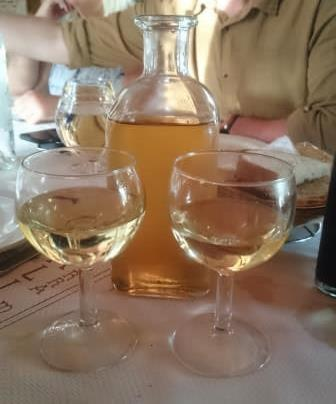 Albarino Wine on the Camino