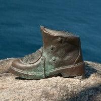 Camino Finisterre - Shoe Statue