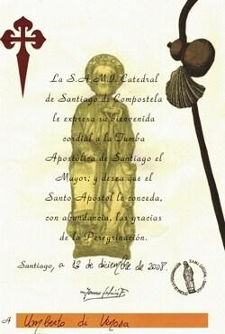 Camino de Santiago Compostela
