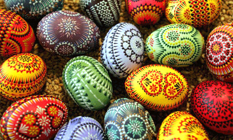 Easter eggs on the camino