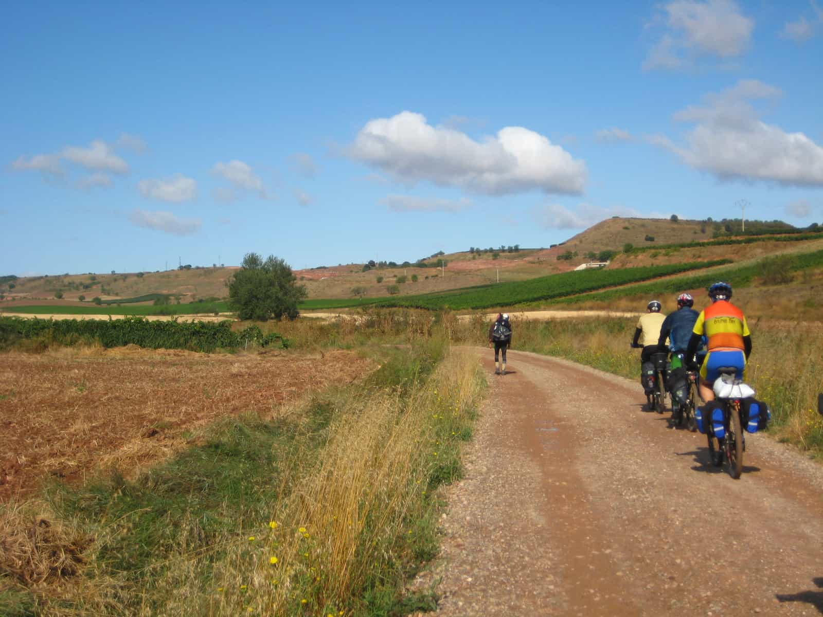 Biking the Camino