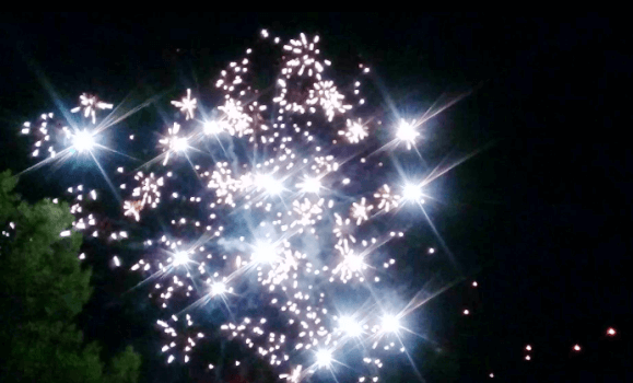 Fireworks on the Camino