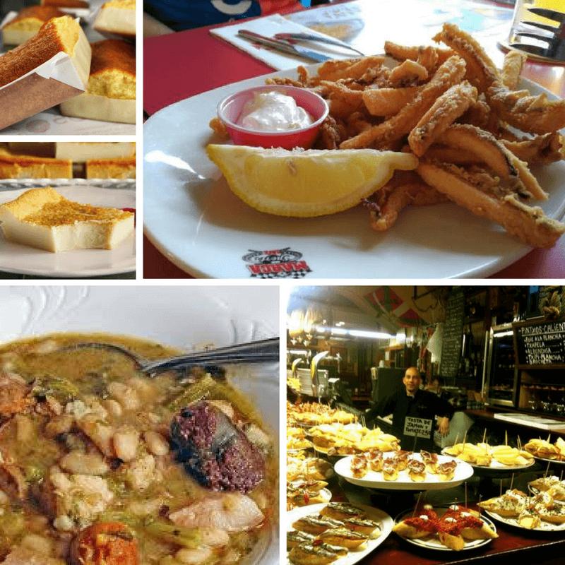 Food in Santander