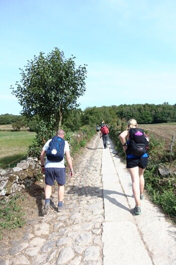 Hiking on the Camino