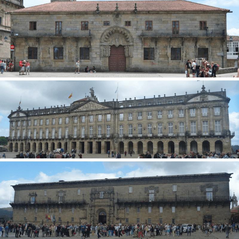 Historical Buildings Santiago de Compostela
