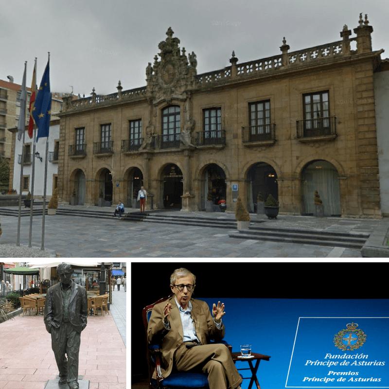Oviedo and Woody Allen
