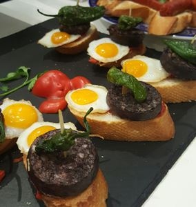 Pintxos on the Camino