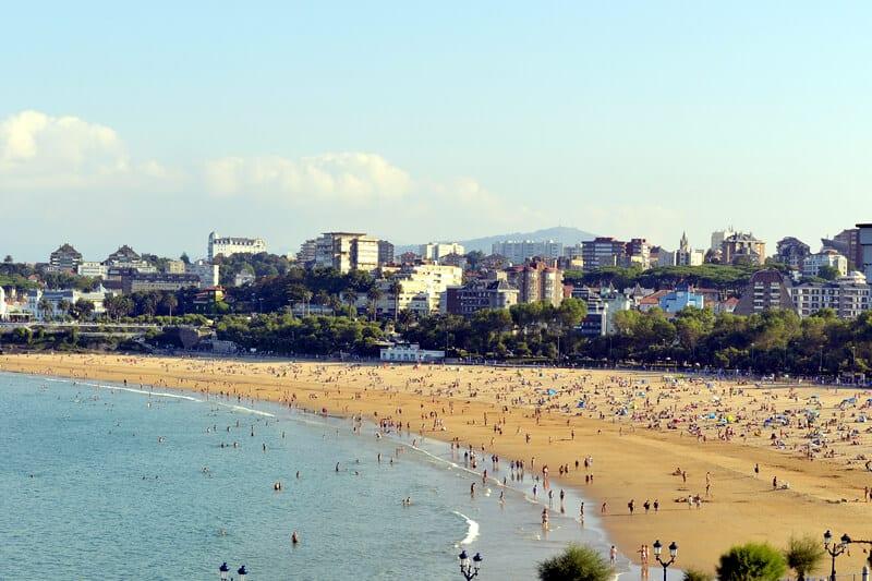 Santander El Sardinero Beach