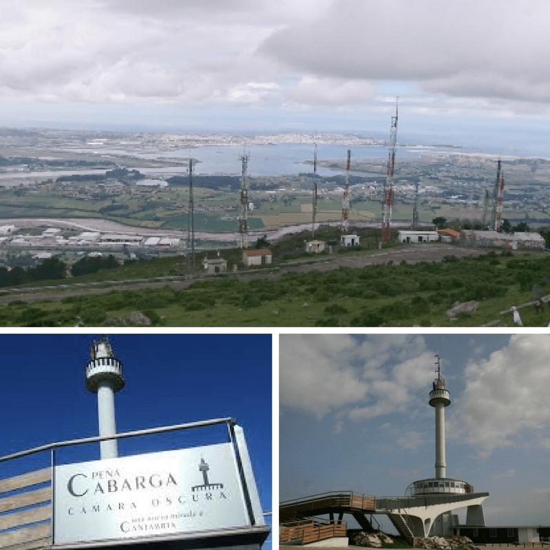 Santander view from Mirador de Pena Cabarga