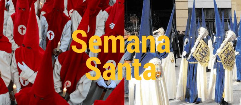 Semana Santa banner - Festival in Spain