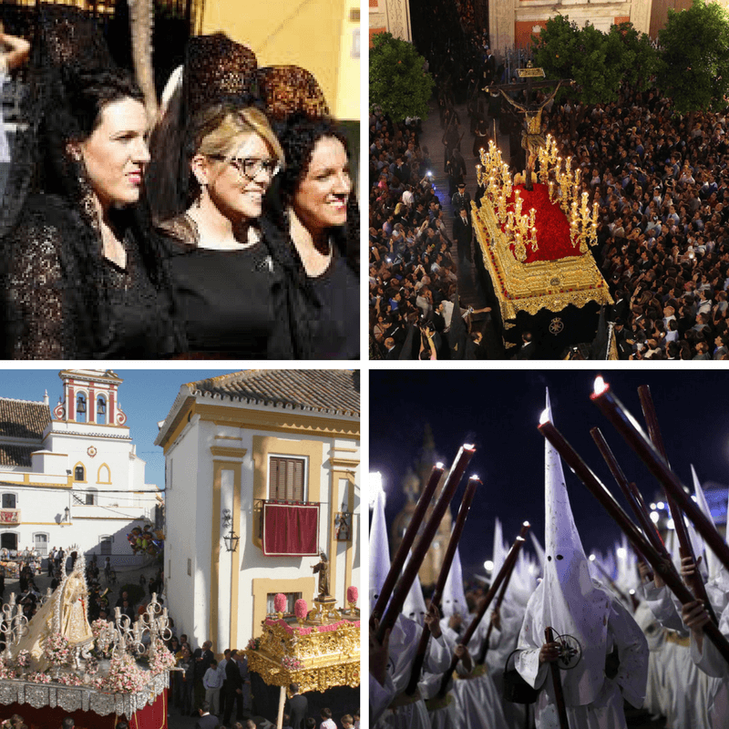 Semana Santa Sevilla Celebrations