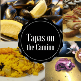 Tapas on the Camino Banner