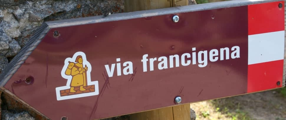 Via Francigena- The Camino New Contender: By pilgrim Elaine Jones image