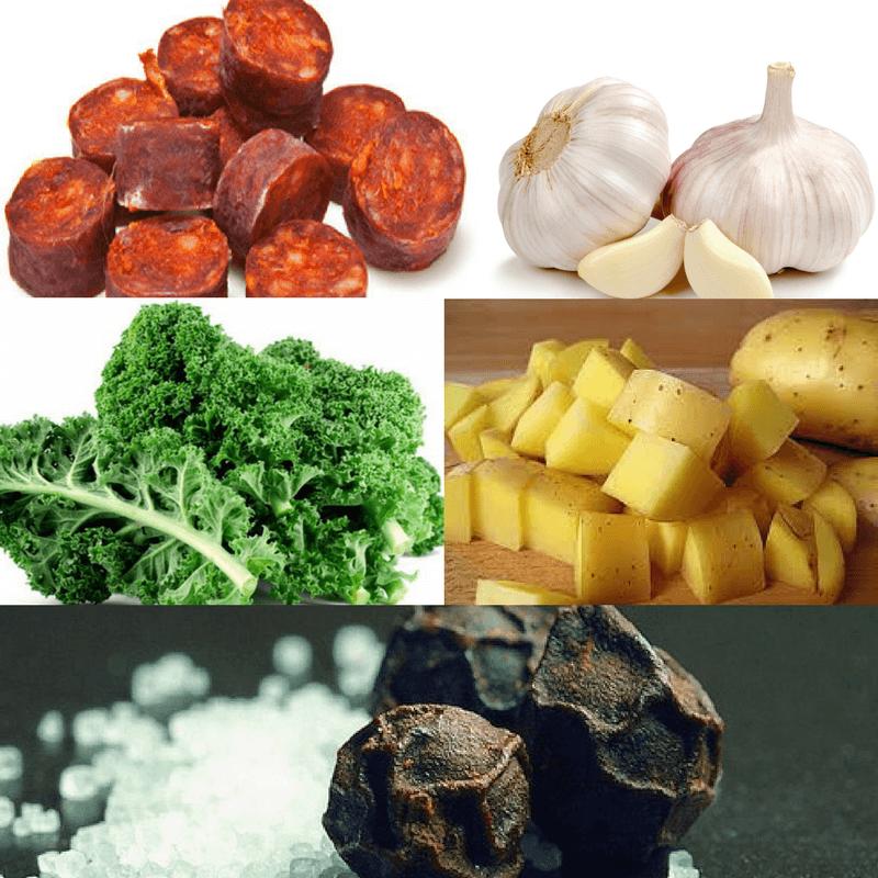 Ingredients Caldo Gallego