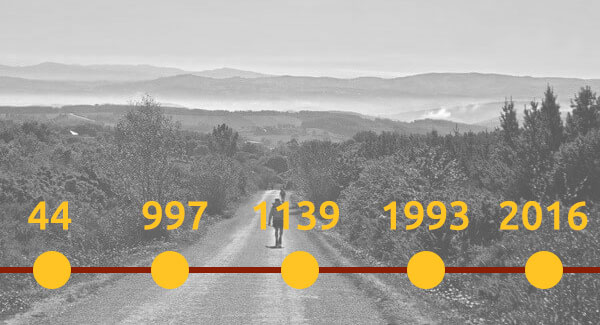 Quick history of the Camino de Santiago image