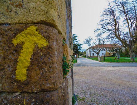 arrows Camino Frances section 2