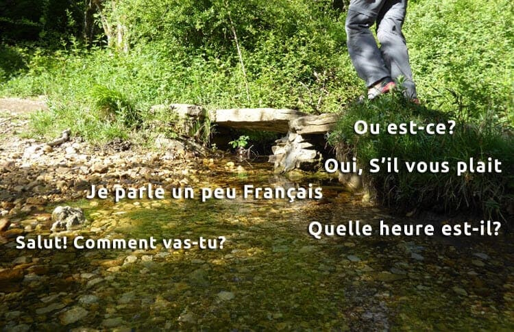 Learn basic French for Le Puy Route image