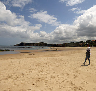 visit the beach after walking the camino de santiago