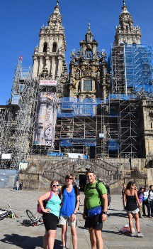 Our services include certified Camino guides