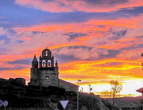 Sunset on Camino Mozarabe 6