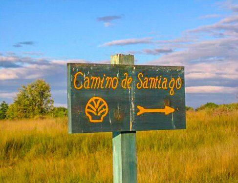 Signage on Camino Mozarabe 7