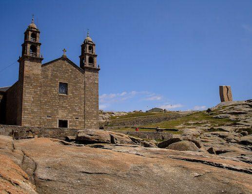 Historic building on Camino Portugues 1