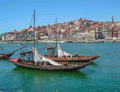 Boats on Camino Portugues 3