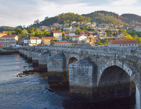 Bridge on Camino Portugues 5