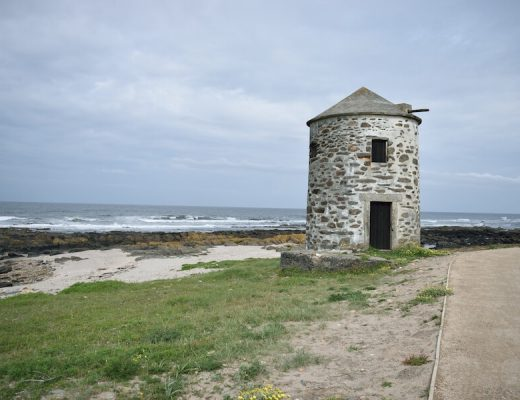Camino Portugues Coastal  Route 1 - lighthouse along the coast