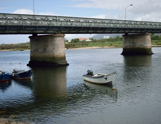 Camino Portugues Coastal  Route 1 - bridge