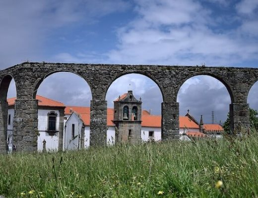 Camino Portugues Coastal  Route 1 - historical building
