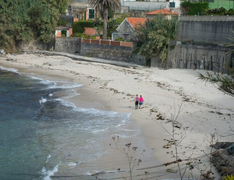 Camino Portugues Coastal Route 2 - beach walk