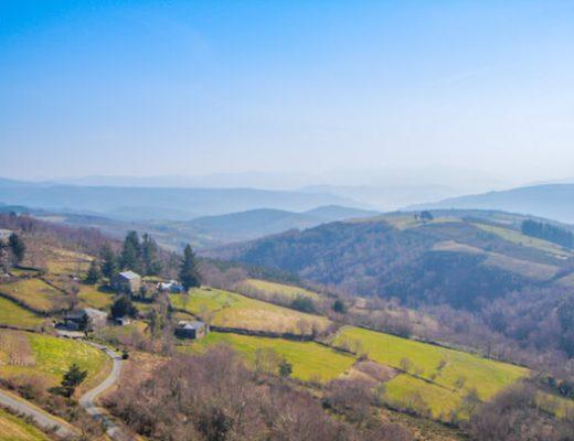 Hilly landscape on Camino Primitivo 1