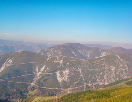 Amazing landscape Camino Primitivo 1