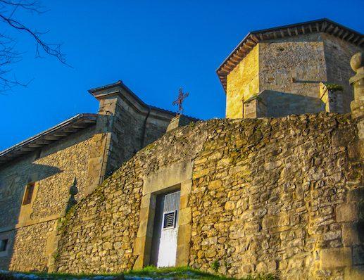 Old stone building Camino del Norte 1