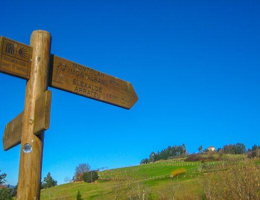 Signage on Camino del Norte 1
