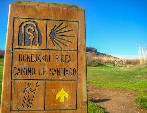 Signage on Camino del Norte 2