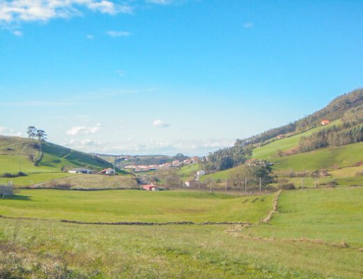 scenery on Camino del Norte 3