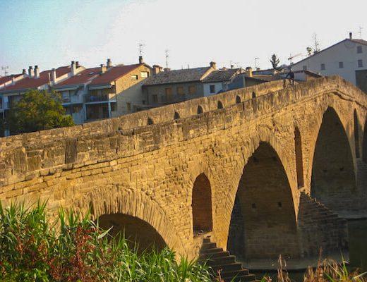 Cycle Camino Frances 1 bridge