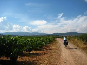 Cycling the Camino de Santiago track