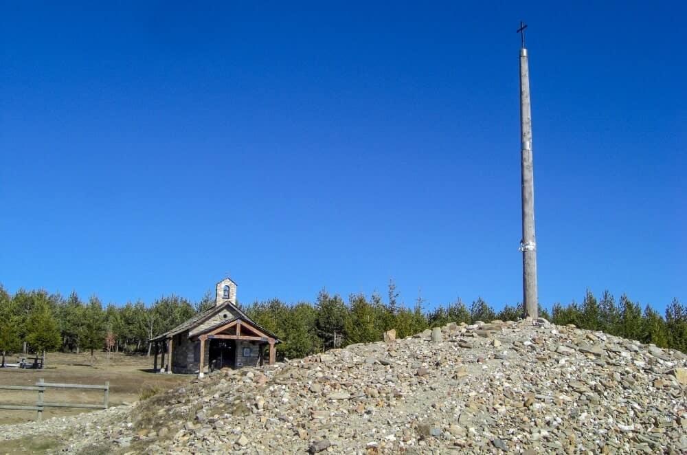 The Iron Cross on Monte Irago