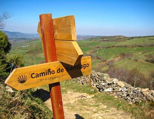 The Whole Camino Frances - signage