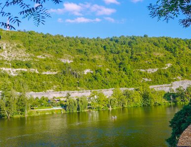 Via Podiensis 3 - river scenery