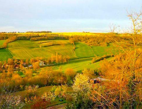 Via Podiensis 4 - colourful landscape