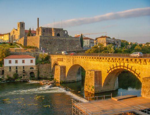 Whole Camino Portugues - bridge