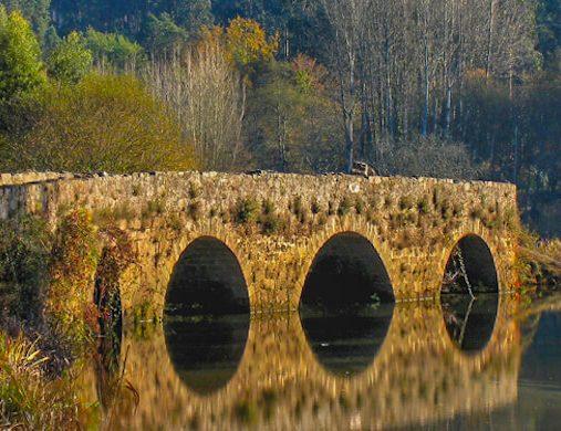 Bridge on Camino Portugues 3