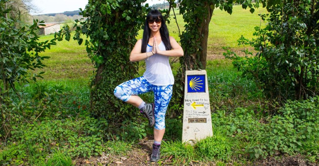 Yoga on the Camino de Santiago